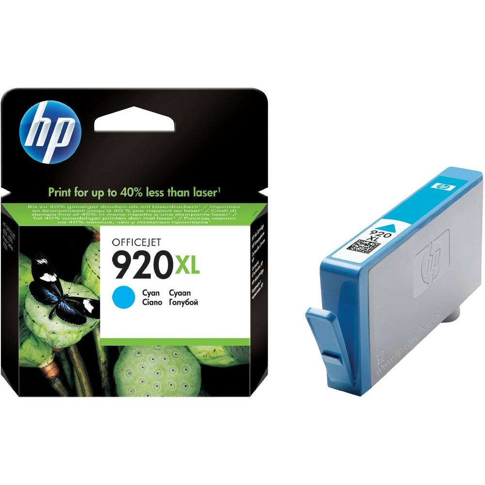 Tusz, HP, 920XL, Cyan, CD972AE, 884420649281