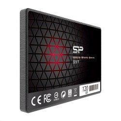 SSD, Silicon Power, S57, 120 GB, SP120GBSS3S57A25, 4712702653540